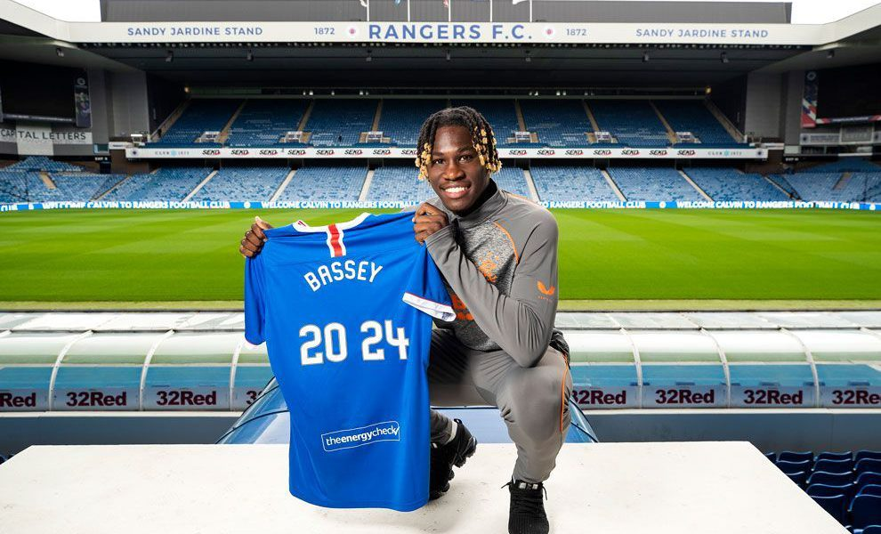 Calvin Bassey signs for Rangers