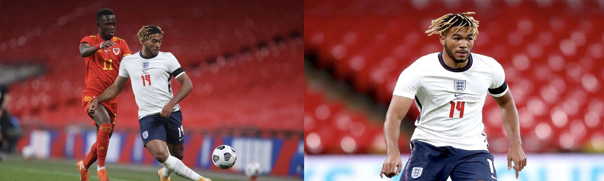 Reece James makes England Debut