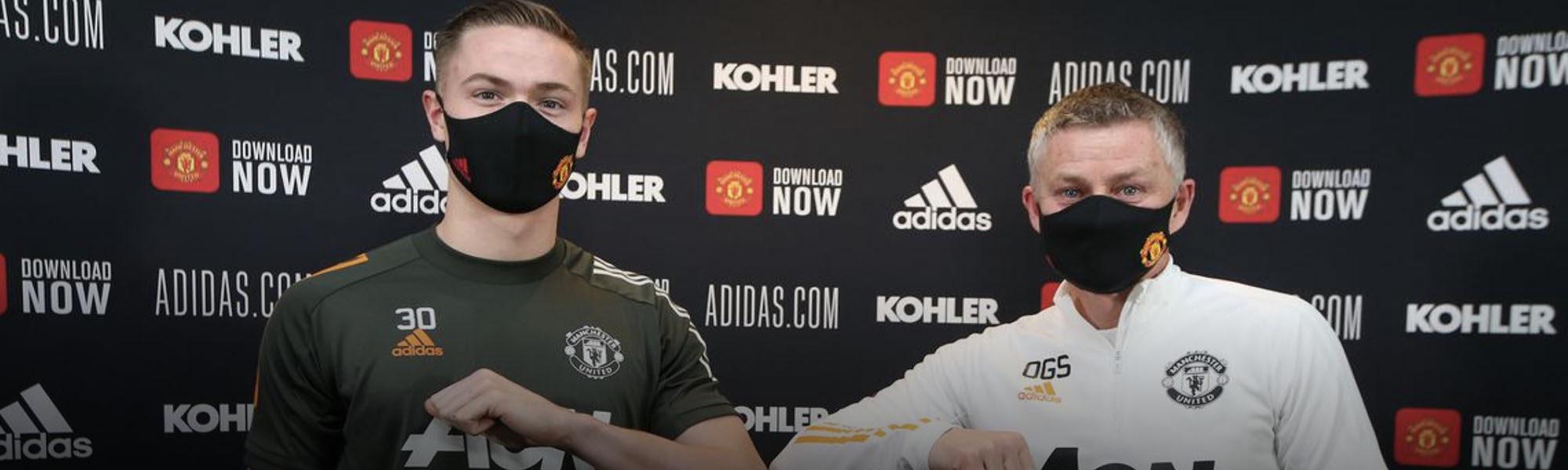 New Man United Deal for Nathan Bishop